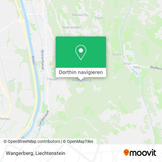 Wangerberg Karte