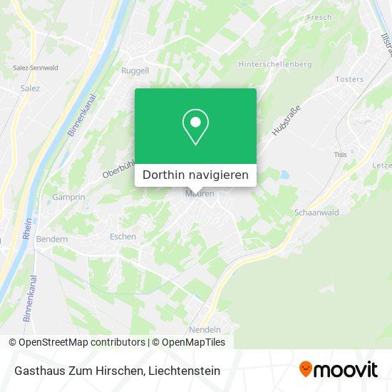 Gasthaus Hirschen Karte