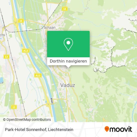 Park-Hotel Sonnenhof Karte