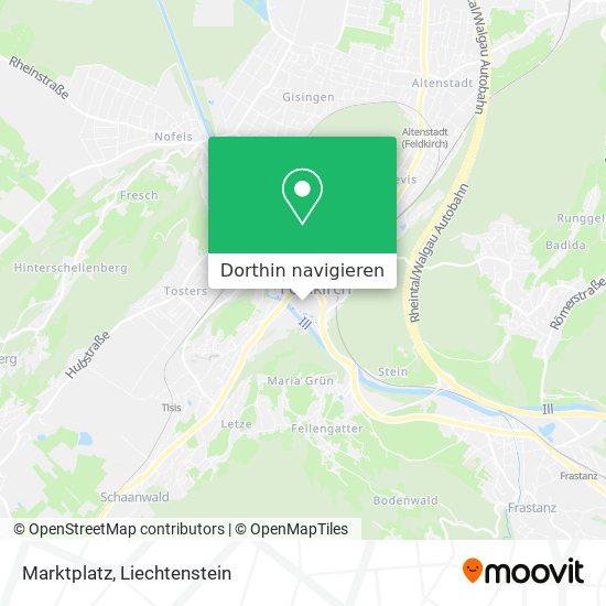Marktplatz Karte