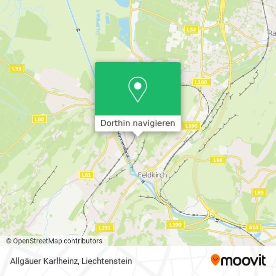 Allgäuer Karlheinz Karte