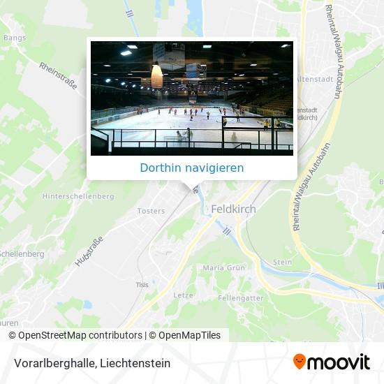 Vorarlberghalle Karte