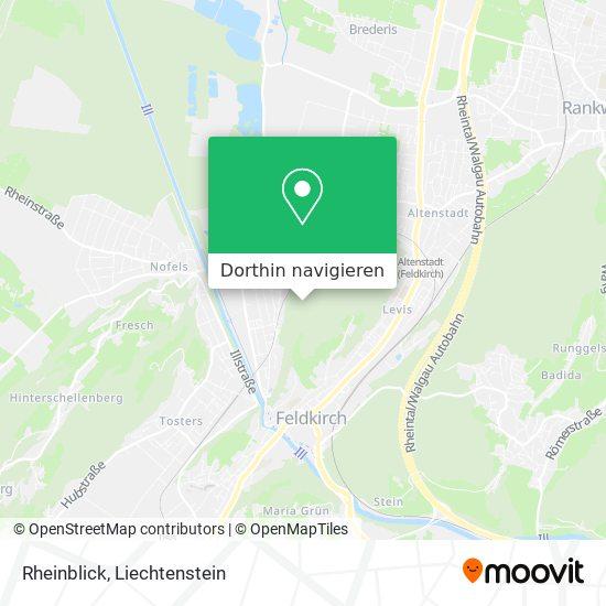 Rheinblick Karte