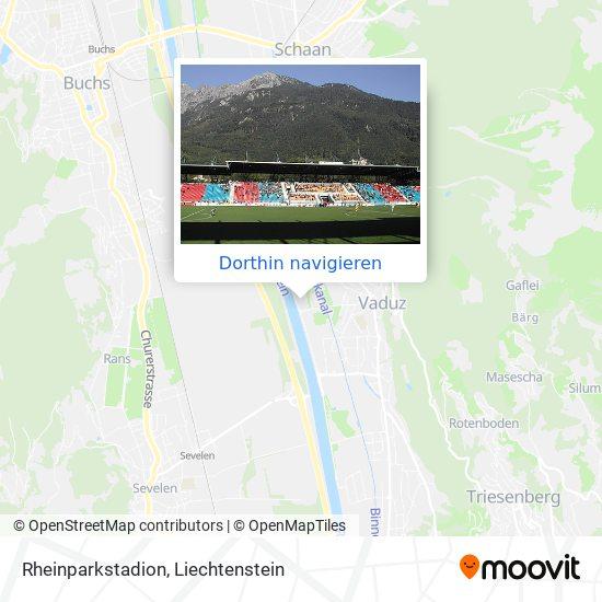 Rheinparkstadion Karte