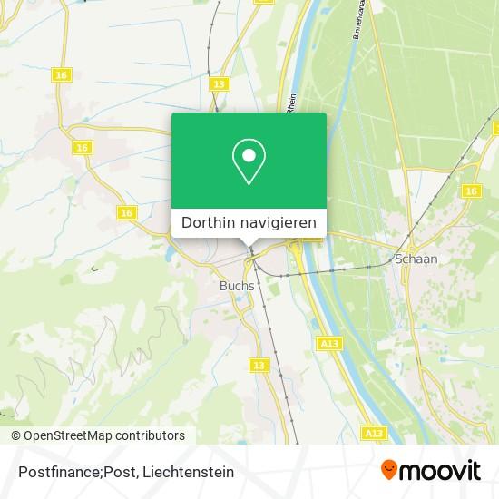 Postfinance;Post Karte