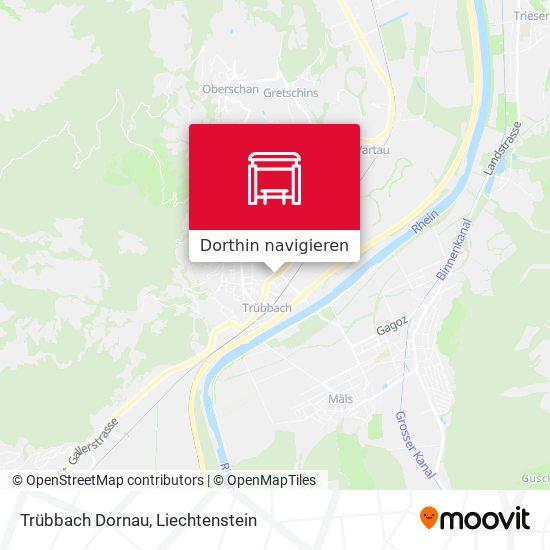 Trübbach Dornau Karte