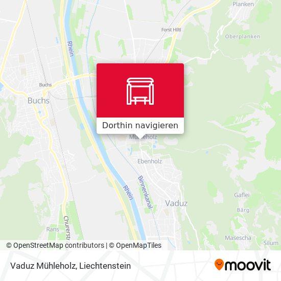 Vaduz Mühleholz Karte