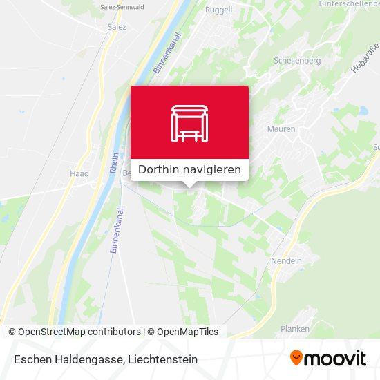 Eschen Haldengasse Karte