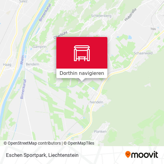 Eschen Sportpark Karte