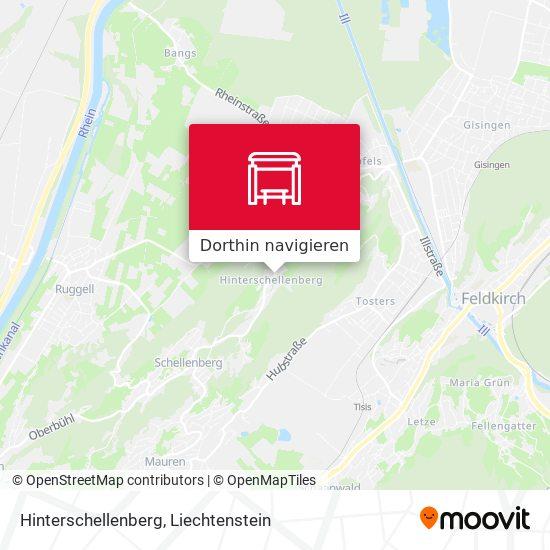 Hinterschellenberg Karte