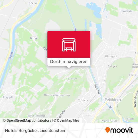Nofels Bergäcker Karte