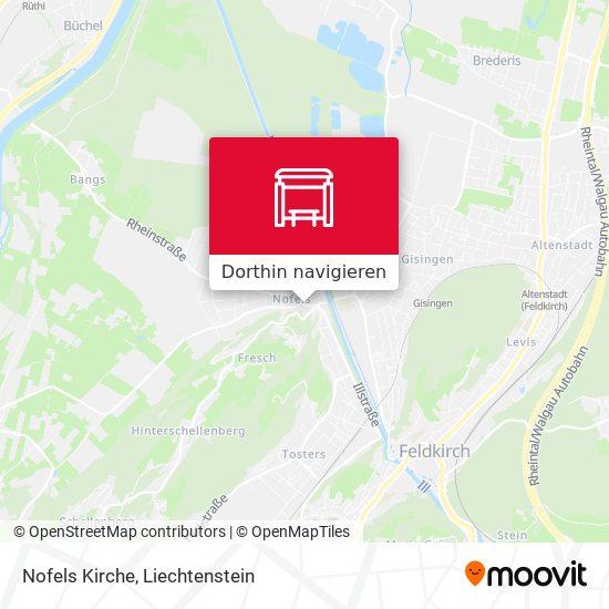 Nofels Kirche Karte