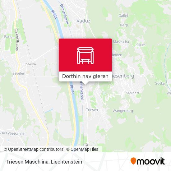 Triesen Maschlina Karte