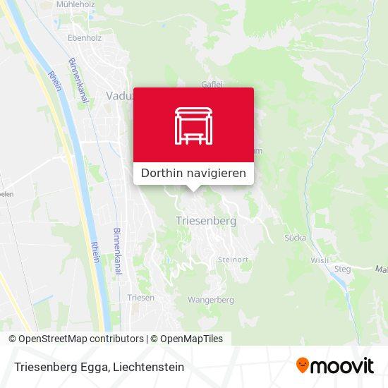 Triesenberg Egga Karte