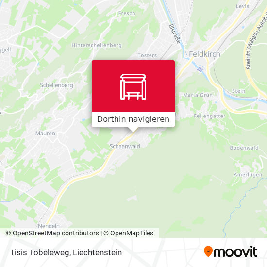 Tisis Töbeleweg Karte