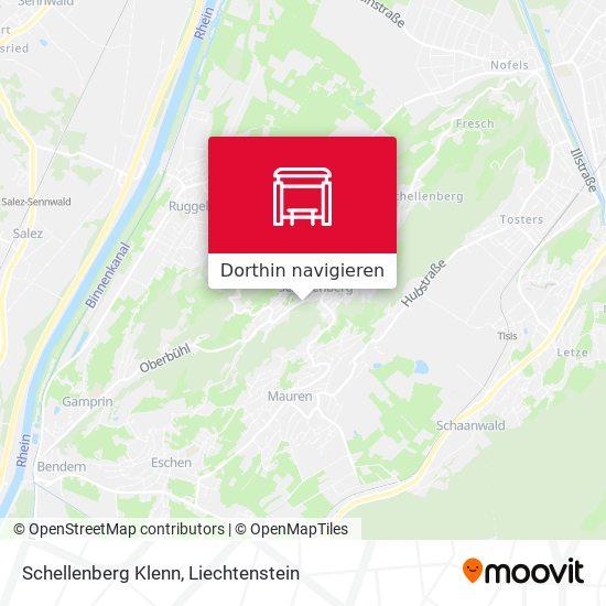 Schellenberg Klenn Karte
