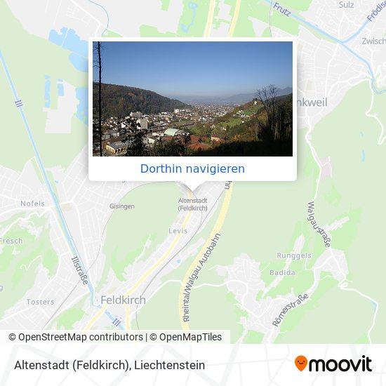 Altenstadt (Feldkirch) Karte