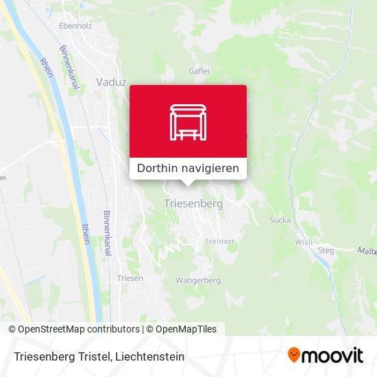 Triesenberg Tristel Karte