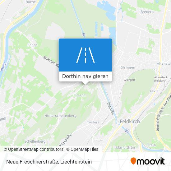 Neue Freschnerstraße Karte