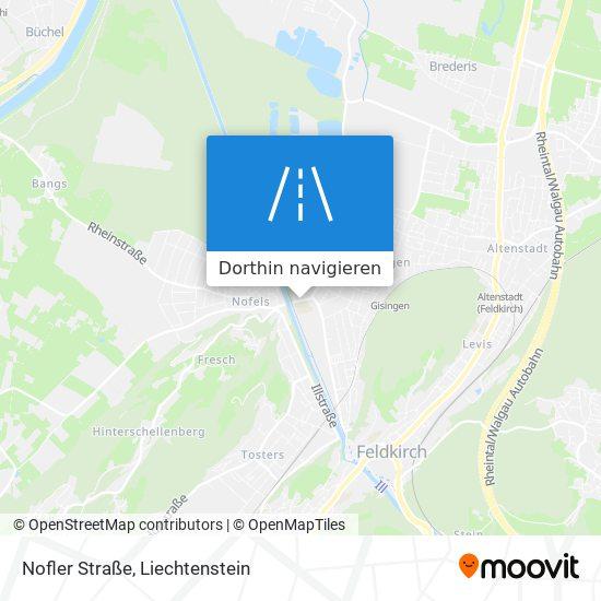 Nofler Straße Karte
