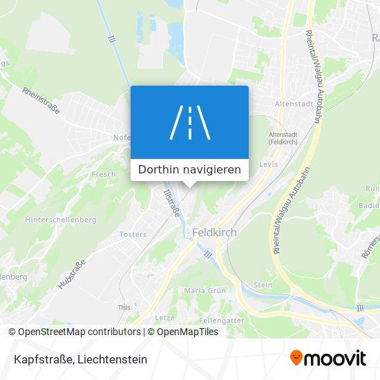 Kapfstraße Karte