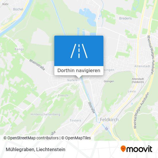 Mühlegraben Karte