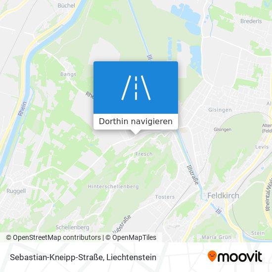 Sebastian-Kneipp-Straße Karte