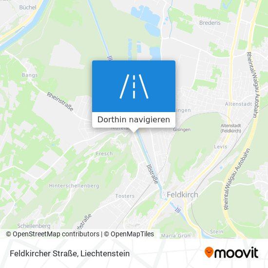 Feldkircher Straße Karte