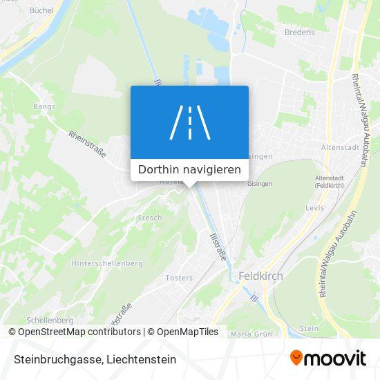 Steinbruchgasse Karte