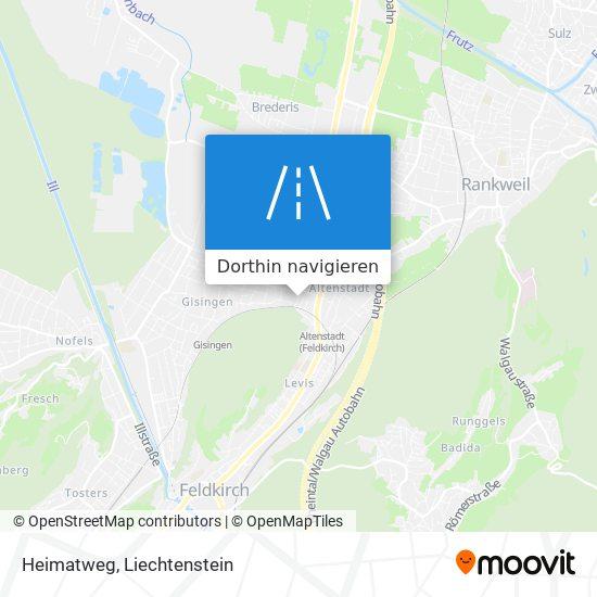 Heimatweg Karte