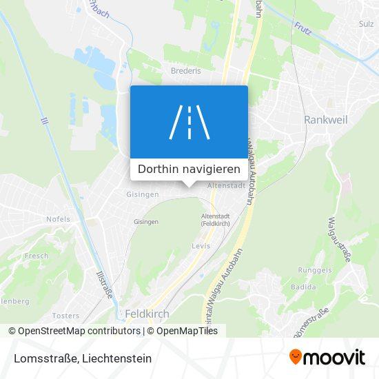Lomsstraße Karte