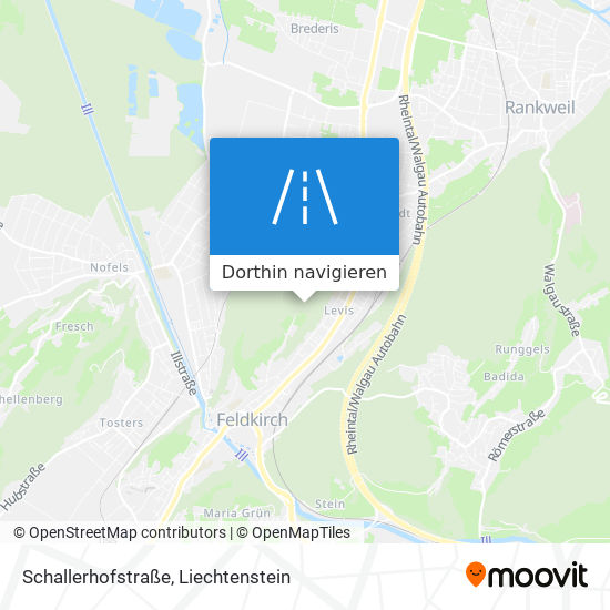 Schallerhofstraße Karte