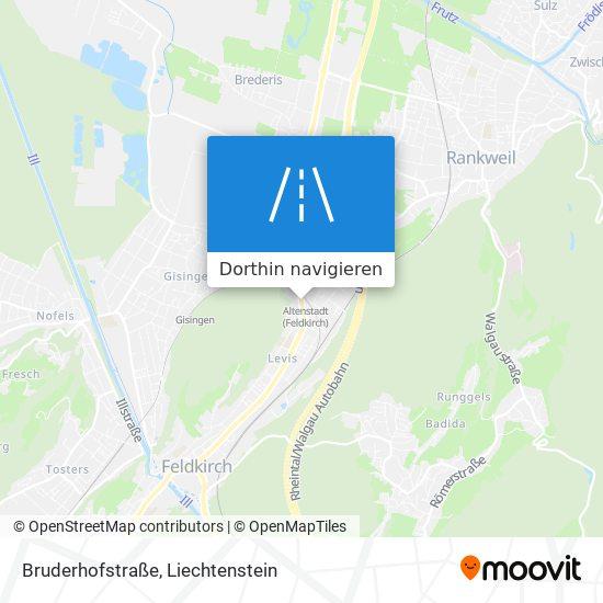 Bruderhofstraße Karte