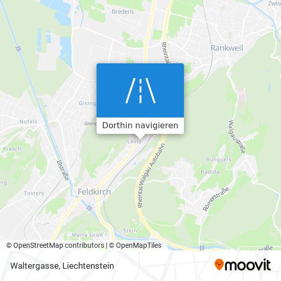 Waltergasse Karte