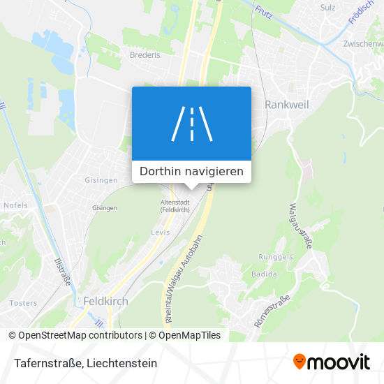 Tafernstraße Karte