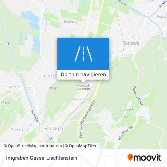 Imgraben-Gasse Karte