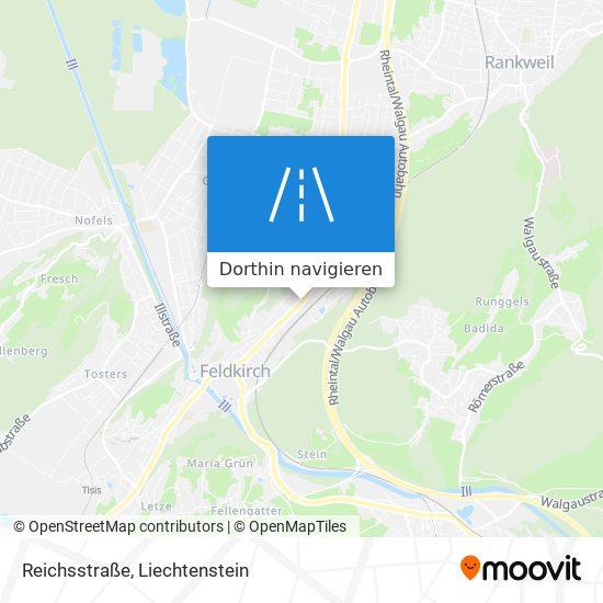 Reichsstraße Karte