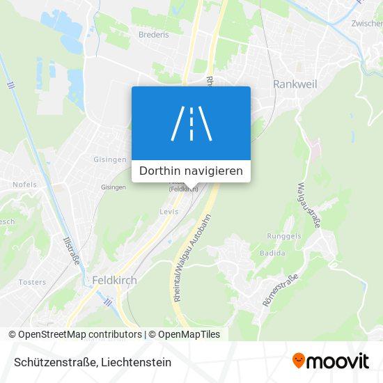 Schützenstraße Karte