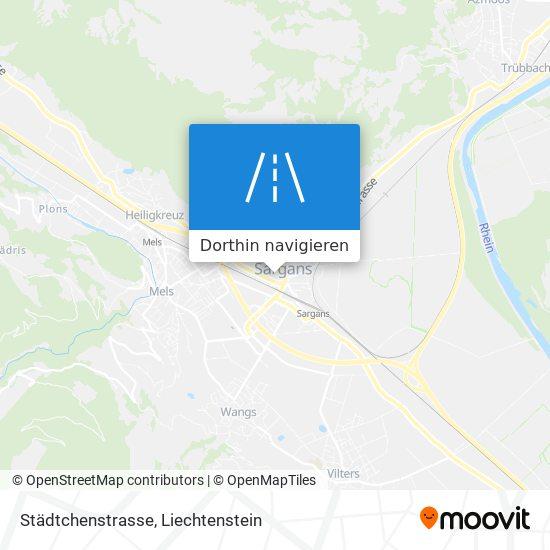 Städtchenstrasse Karte