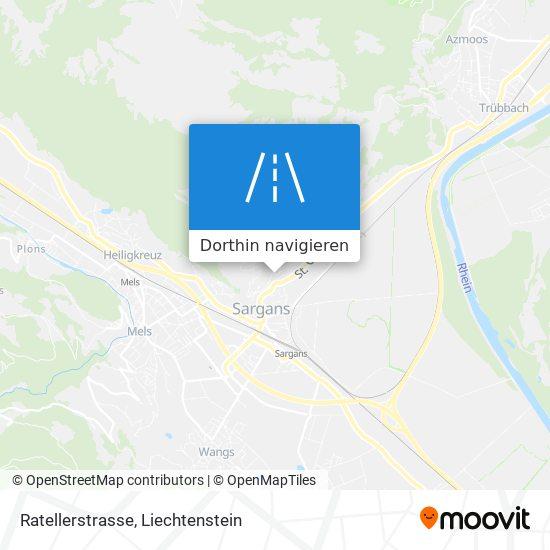 Ratellerstrasse Karte