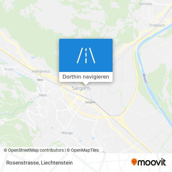 Rosenstrasse Karte