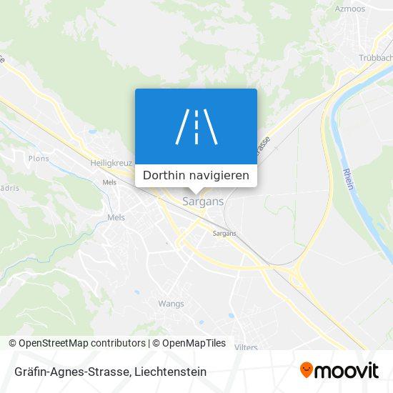 Gräfin-Agnes-Strasse Karte