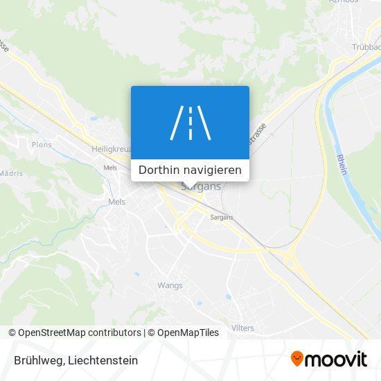 Brühlweg Karte