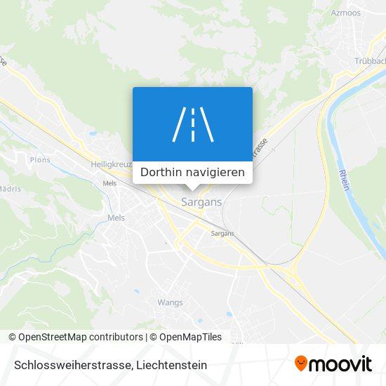 Schlossweiherstrasse Karte