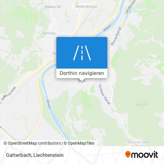 Gatterbach Karte