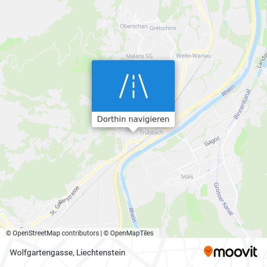 Wolfgartengasse Karte