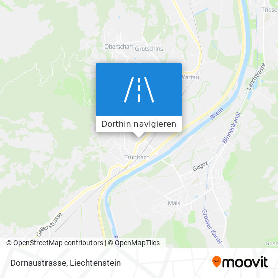 Dornaustrasse Karte