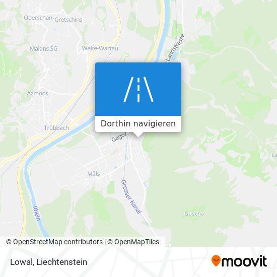 Lowal Karte