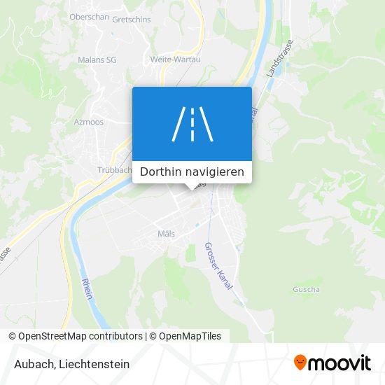 Aubach Karte