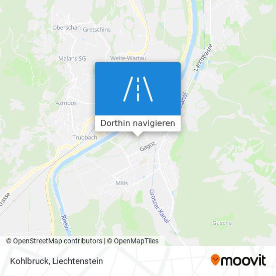 Kohlbruck Karte